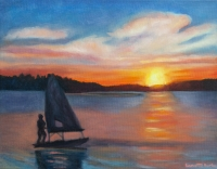 Sunset on the Reservior- limited edition print